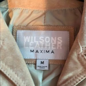 Wilson's leather maxima line brown leather